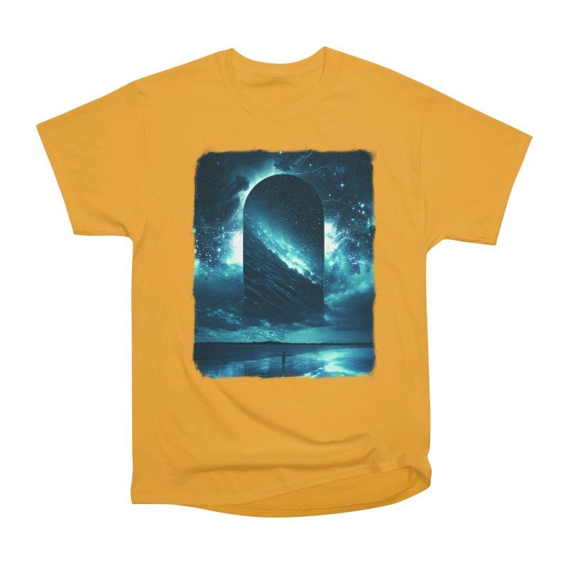 Cosmic Storm Women's Heavyweight Unisex T-Shirt by Lumi
