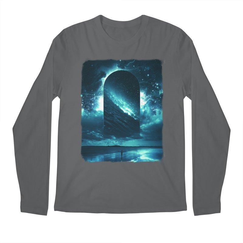 Cosmic Storm Men's Longsleeve T-Shirt by Lumi