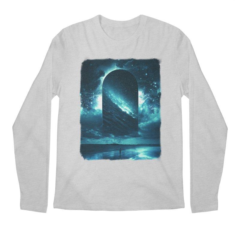 Cosmic Storm Men's Regular Longsleeve T-Shirt by Lumi