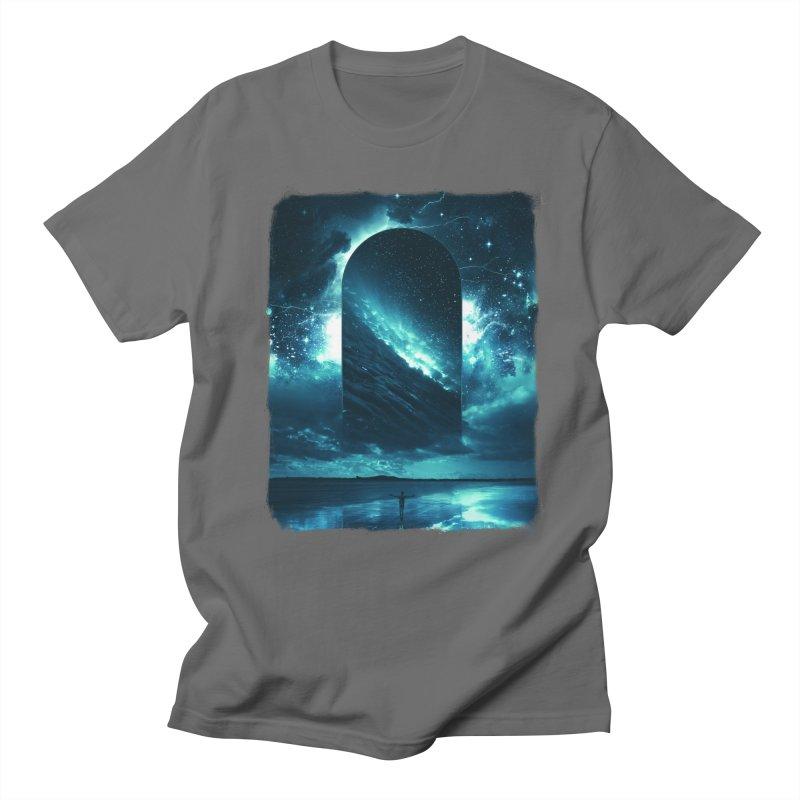 Cosmic Storm Men's Regular T-Shirt by Lumi