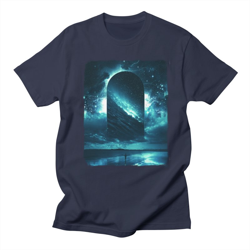 Cosmic Storm Women's Regular Unisex T-Shirt by Lumi