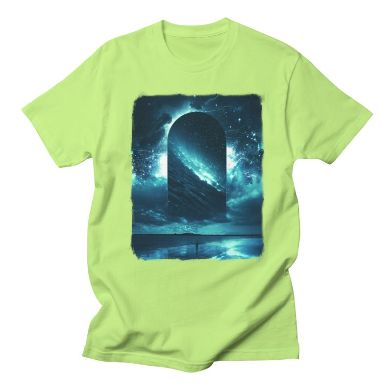 Cosmic Storm Men's Regular T-Shirt by Lumi