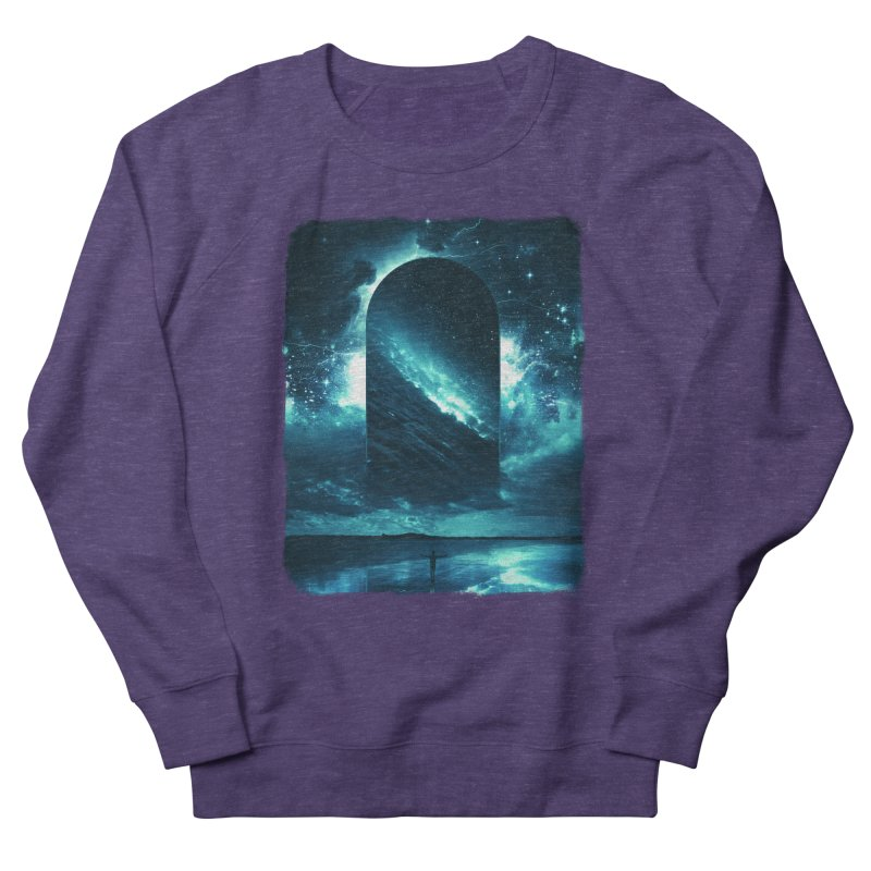 Cosmic Storm Women's French Terry Sweatshirt by Lumi
