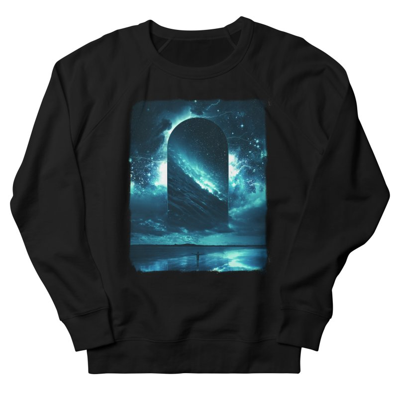 Cosmic Storm Men's French Terry Sweatshirt by Lumi