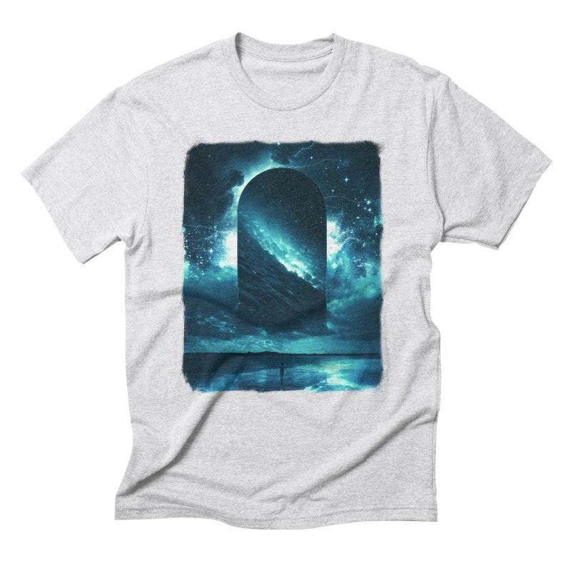 Cosmic Storm Men's Triblend T-Shirt by Lumi