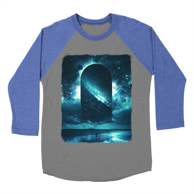 Cosmic Storm Women's Baseball Triblend Longsleeve T-Shirt by Lumi
