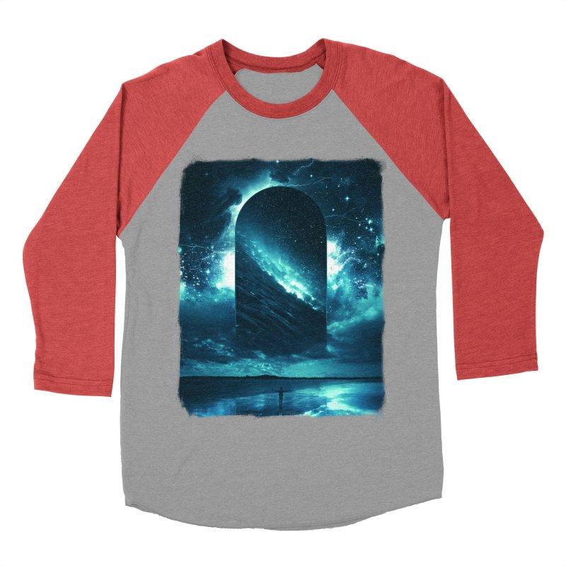 Cosmic Storm Men's Baseball Triblend Longsleeve T-Shirt by Lumi