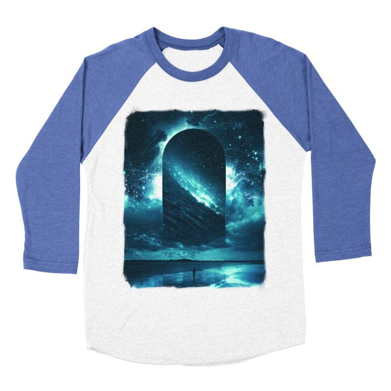 Cosmic Storm Men's Baseball Triblend T-Shirt by Lumi