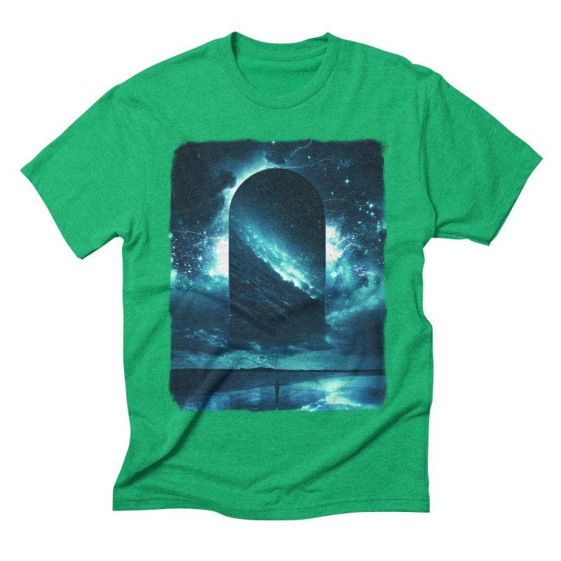 Cosmic Storm Men's Triblend T-shirt by Lumi
