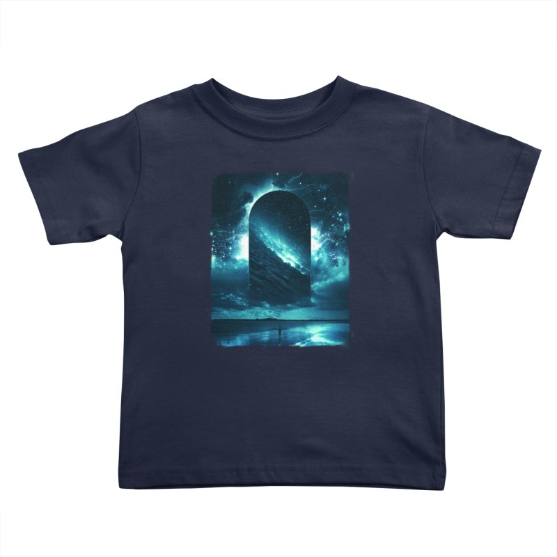 Cosmic Storm Kids Toddler T-Shirt by Lumi