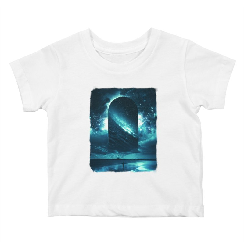Cosmic Storm Kids Baby T-Shirt by Lumi