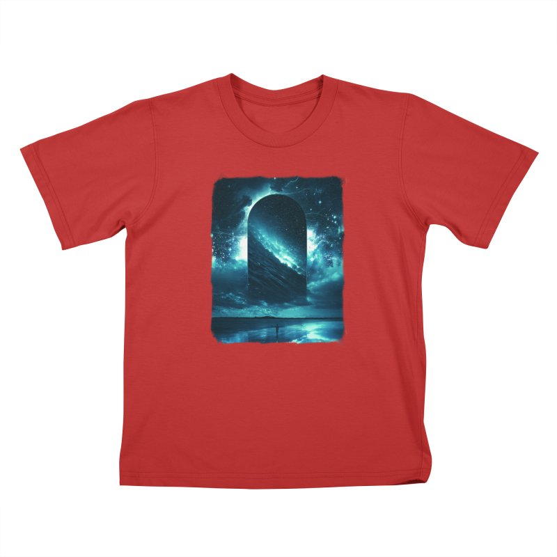 Cosmic Storm Kids T-Shirt by Lumi