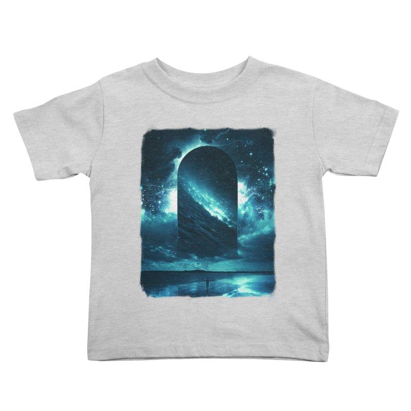 Cosmic Storm Kids Toddler T-Shirt by Lumi