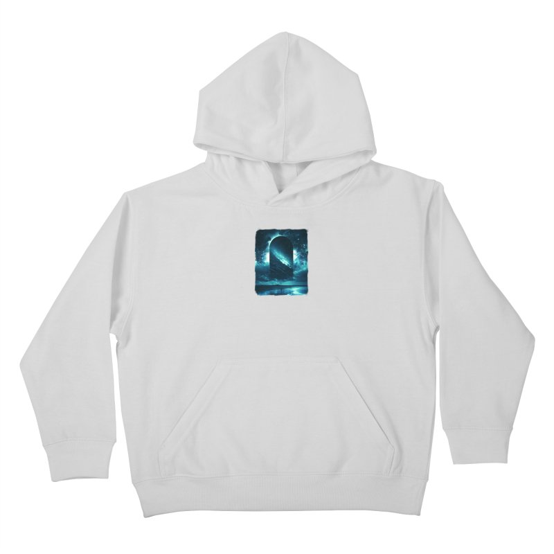 Cosmic Storm Kids Pullover Hoody by Lumi