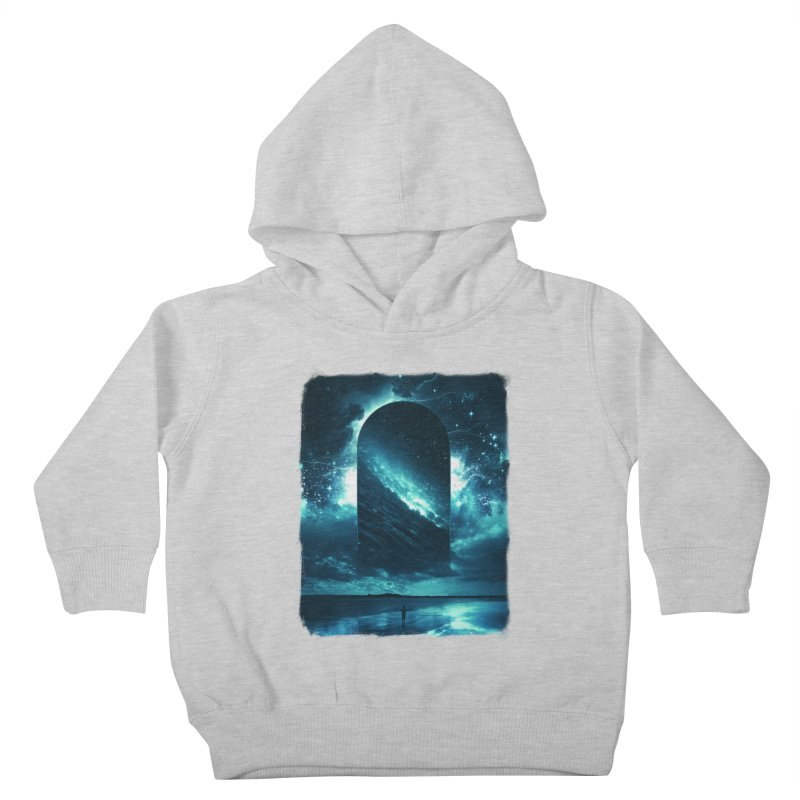 Cosmic Storm Kids Toddler Pullover Hoody by Lumi