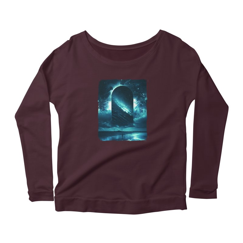 Cosmic Storm Women's Longsleeve T-Shirt by Lumi