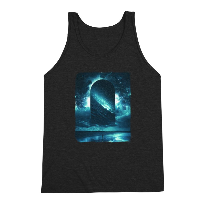 Cosmic Storm Men's Tank by Lumi