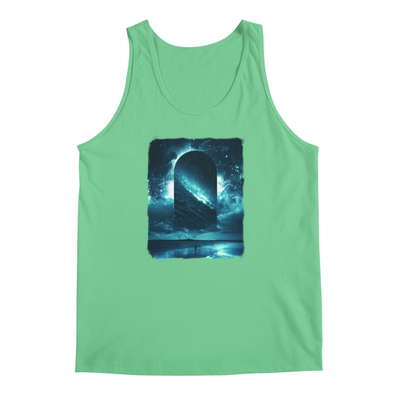 Cosmic Storm Men's Regular Tank by Lumi