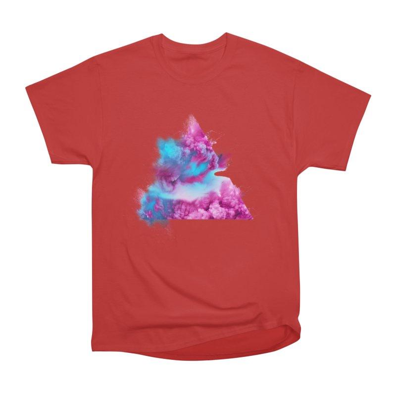 Geometric Men's Heavyweight T-Shirt by Lumi