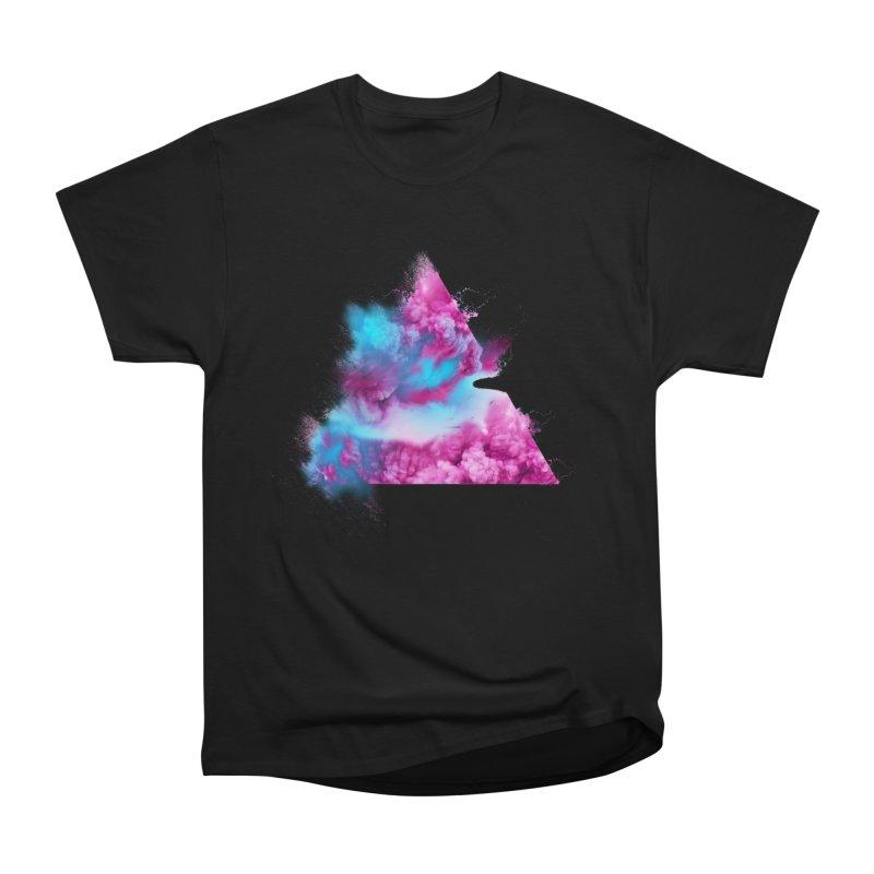 Geometric Women's Heavyweight Unisex T-Shirt by Lumi