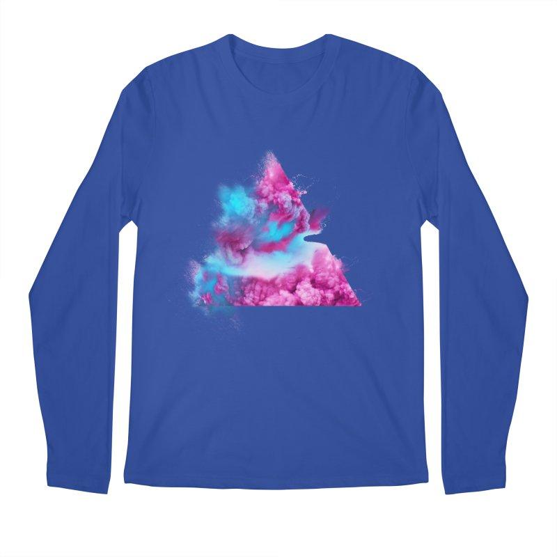 Geometric Men's Longsleeve T-Shirt by Lumi
