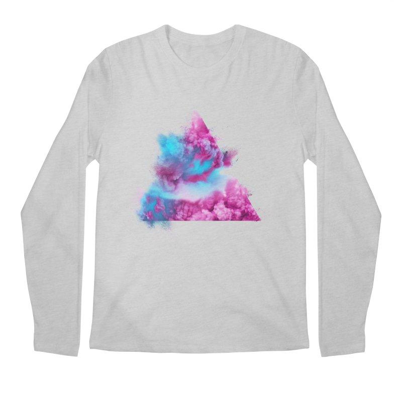 Geometric Men's Regular Longsleeve T-Shirt by Lumi