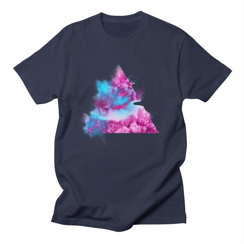 Geometric Men's Regular T-Shirt by Lumi