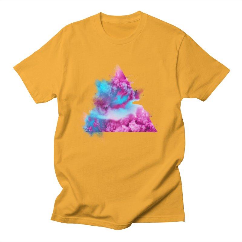 Geometric Women's Regular Unisex T-Shirt by Lumi