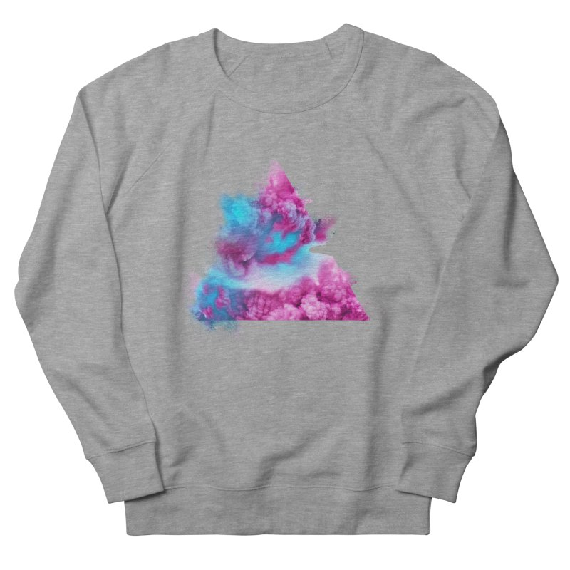 Geometric Women's French Terry Sweatshirt by Lumi