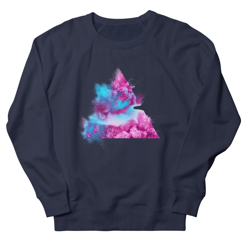 Geometric Women's French Terry Sweatshirt by Lumi