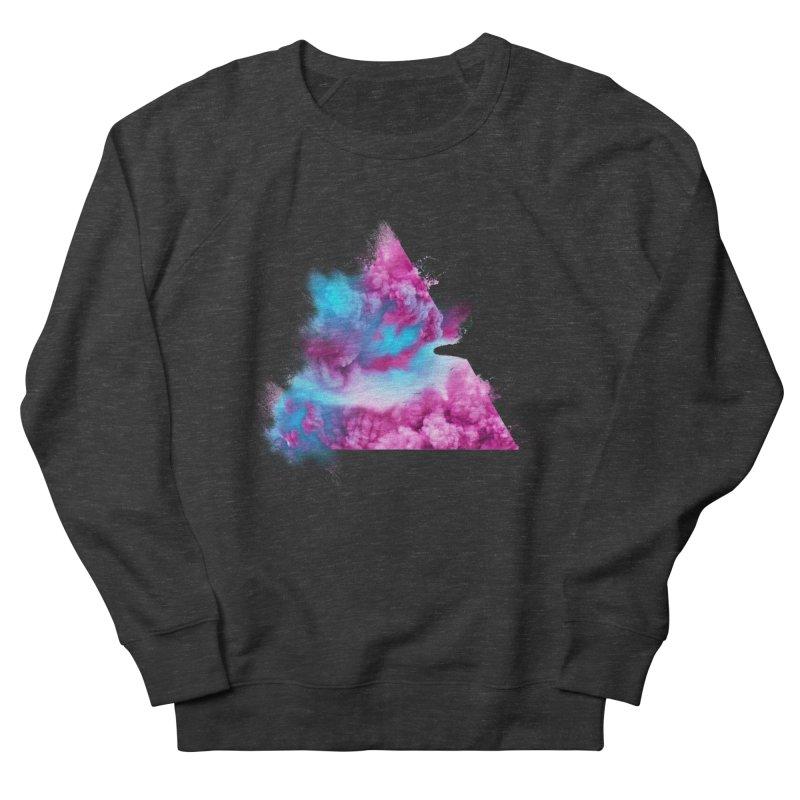 Geometric Men's French Terry Sweatshirt by Lumi