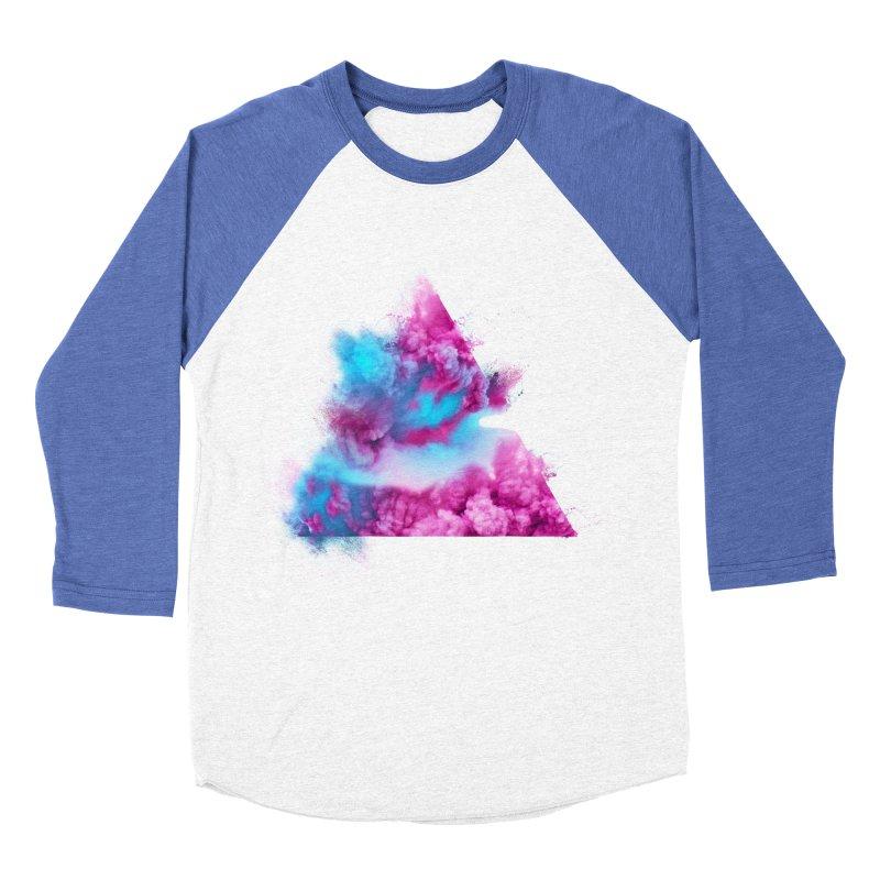 Geometric Women's Baseball Triblend T-Shirt by Lumi