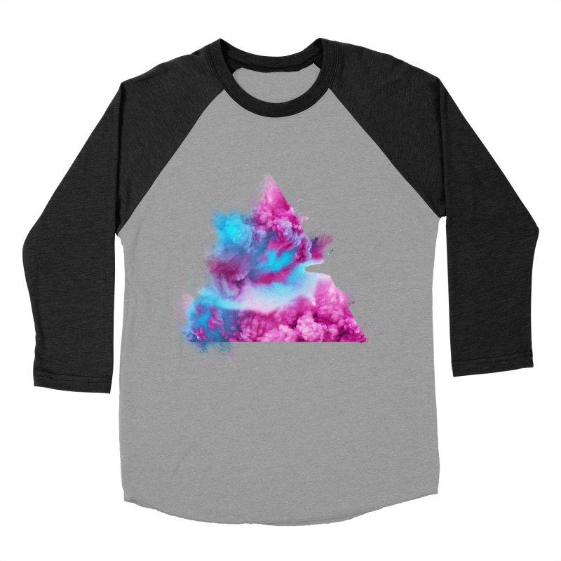 Geometric Men's Baseball Triblend T-Shirt by Lumi