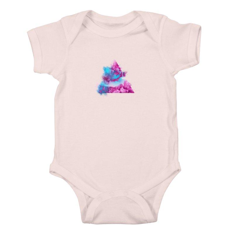 Geometric Kids Baby Bodysuit by Lumi