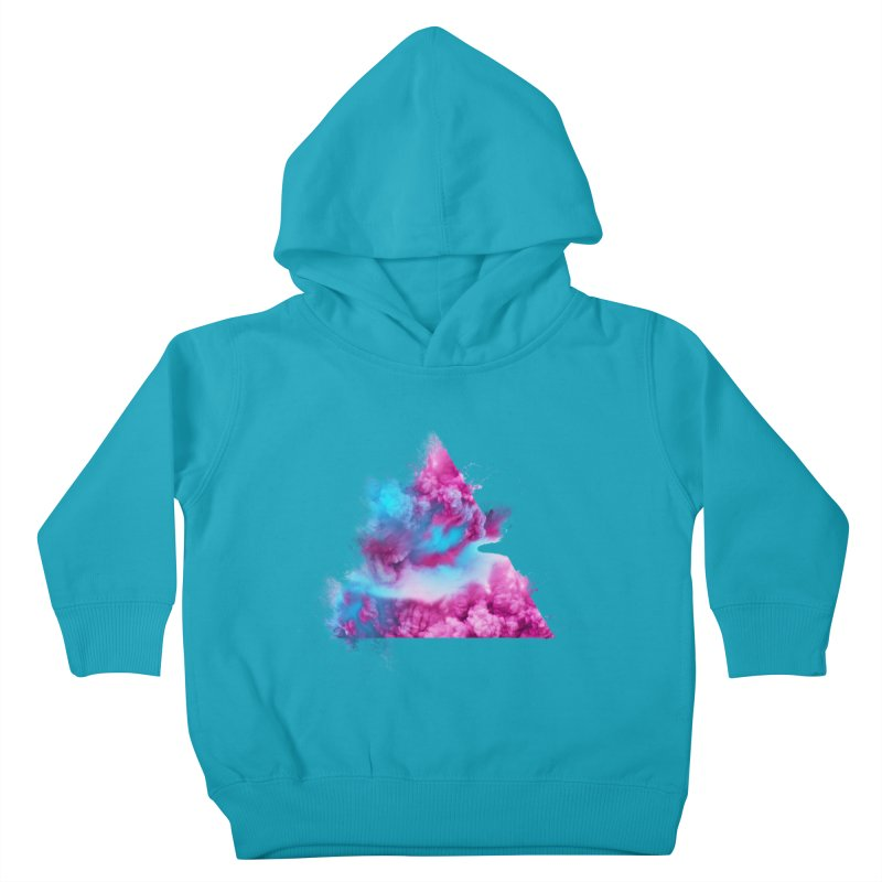 Geometric Kids Toddler Pullover Hoody by Lumi
