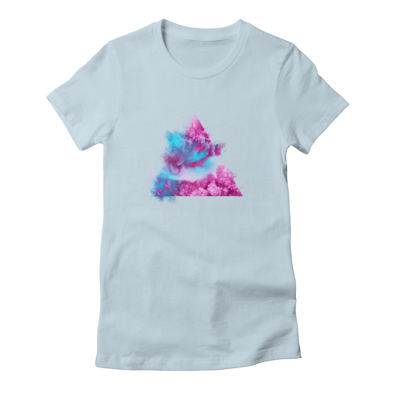 Geometric Women's Fitted T-Shirt by Lumi