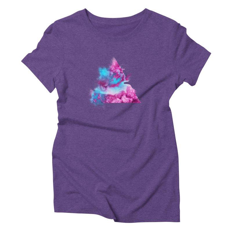 Geometric Women's Triblend T-Shirt by Lumi