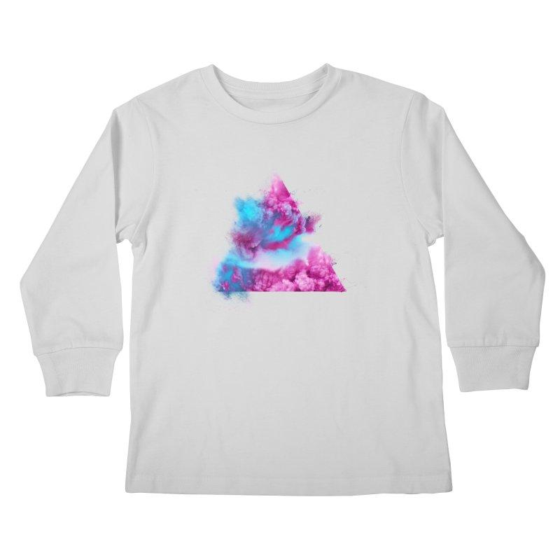 Geometric Kids Longsleeve T-Shirt by Lumi