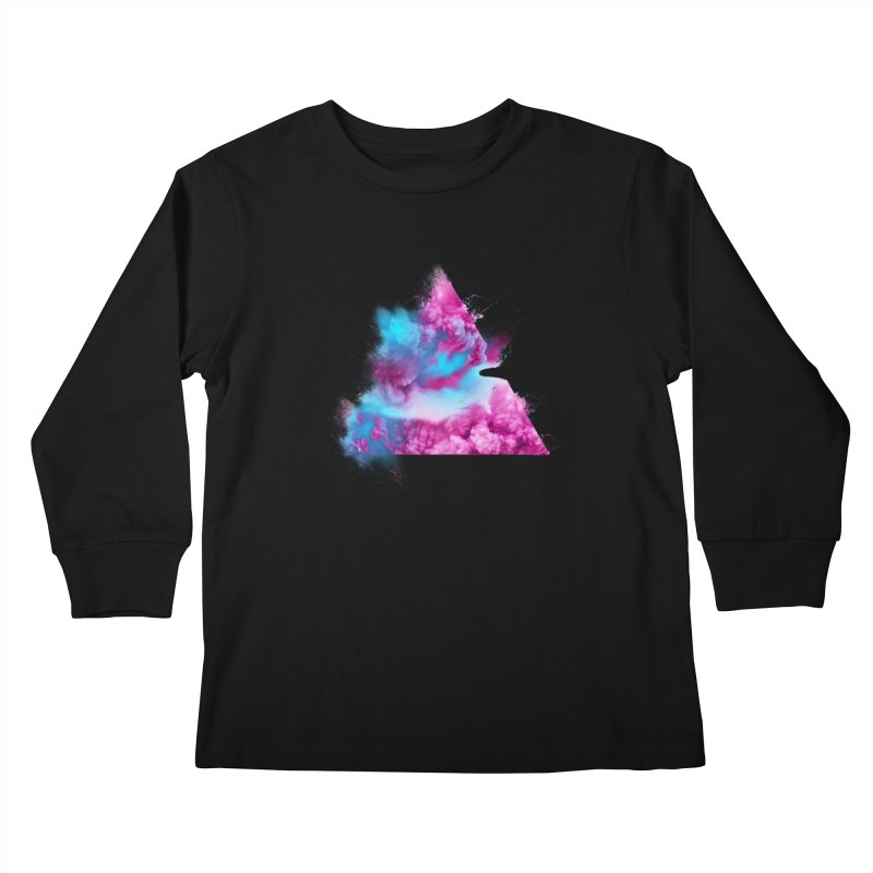 Geometric Kids Longsleeve T-Shirt by Lumi