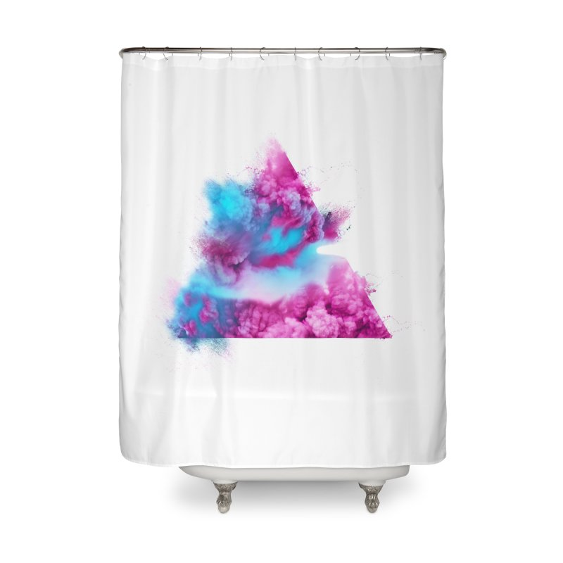 Geometric Home Shower Curtain by Lumi