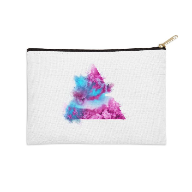Geometric Accessories Zip Pouch by Lumi