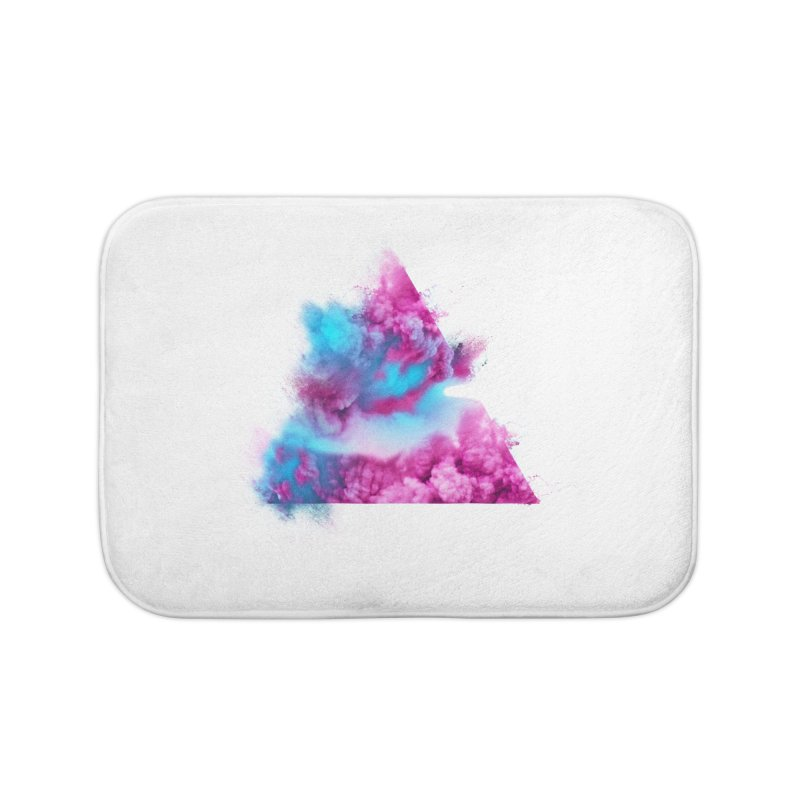 Geometric Home Bath Mat by Lumi