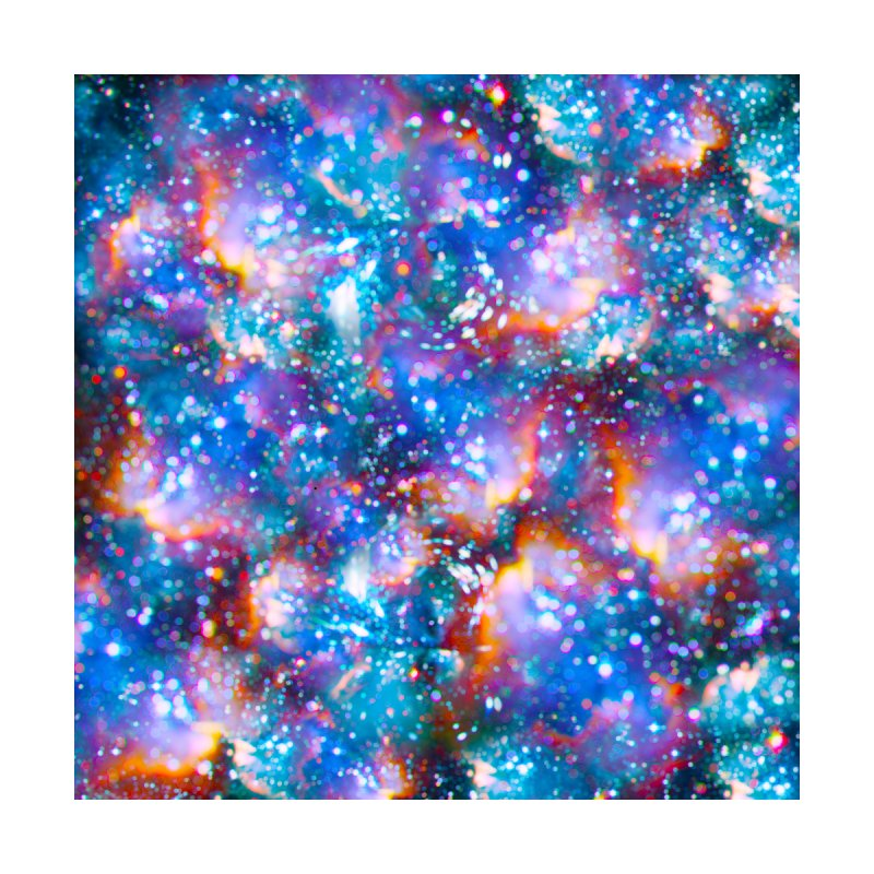 Bokeh Vision Home Stretched Canvas by Lumi
