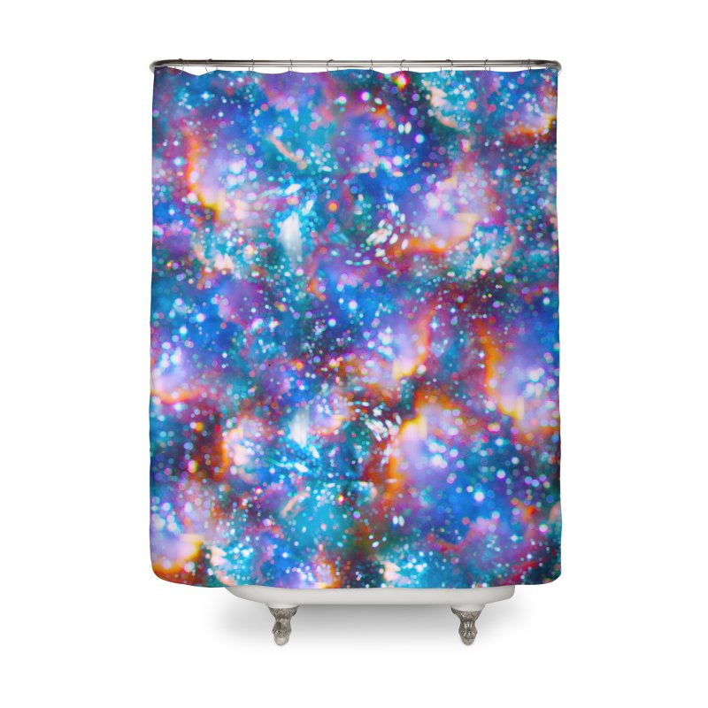 Bokeh Vision Home Shower Curtain by Lumi