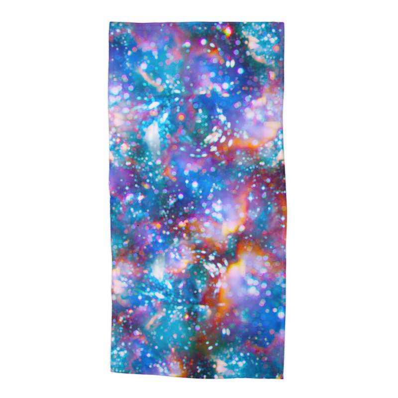 Bokeh Vision Accessories Beach Towel by Lumi