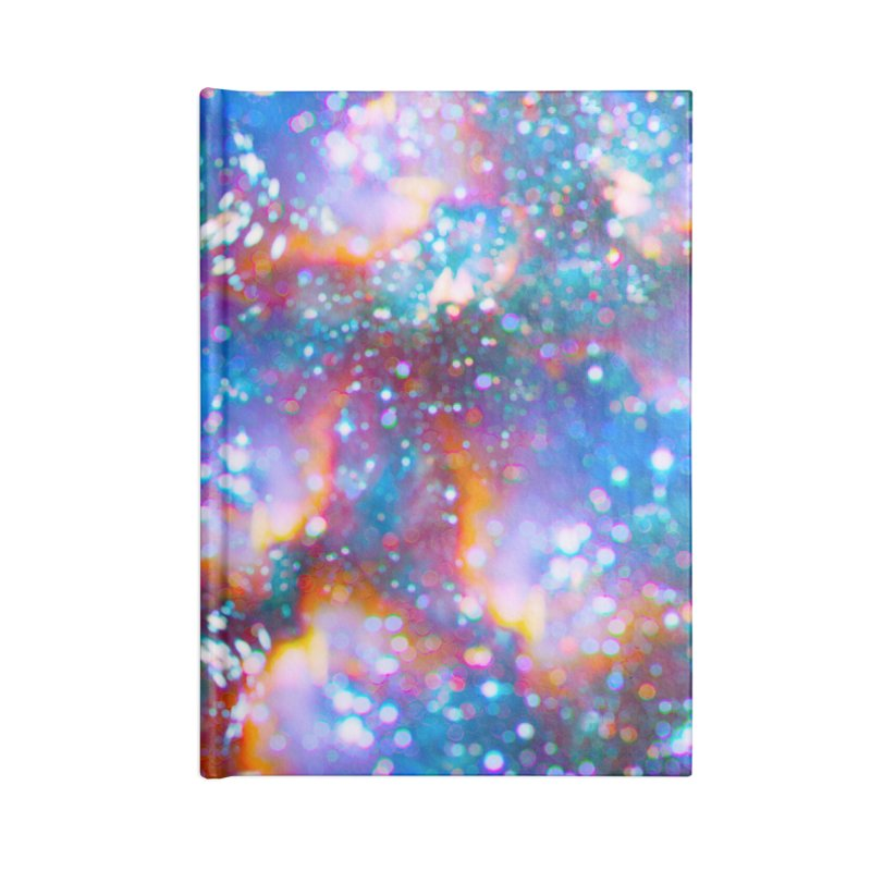 Bokeh Vision in Blank Journal Notebook by Lumi