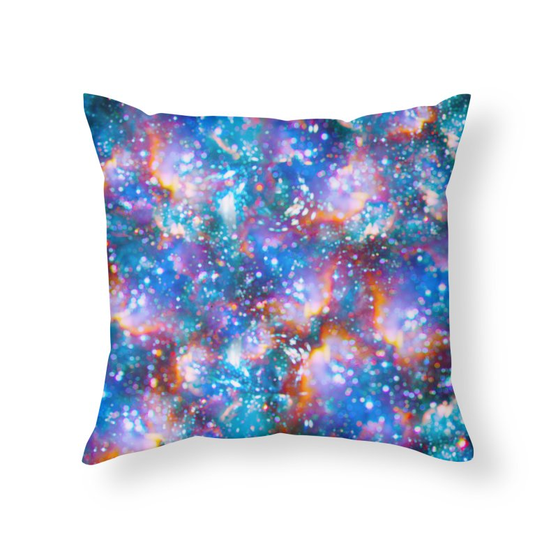 Bokeh Vision Home Throw Pillow by Lumi