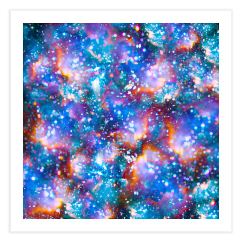 Bokeh Vision Home Fine Art Print by Lumi