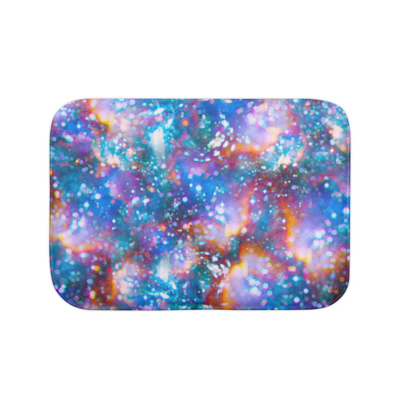 Bokeh Vision Home Bath Mat by Lumi