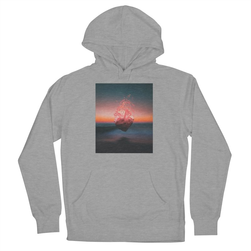 Fabian's Heart Men's French Terry Pullover Hoody by Lumi